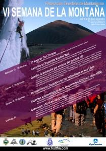 cartel semana de la montaña
